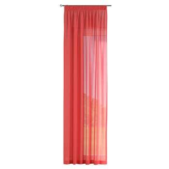 Gardin med rynkebånd 1 stk. 130 × 260 cm fra kolleksjonen Romantikk, Stoffets bredde: 128-02