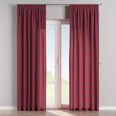 Pencil pleat curtains in collection Bristol, fabric: 126-29