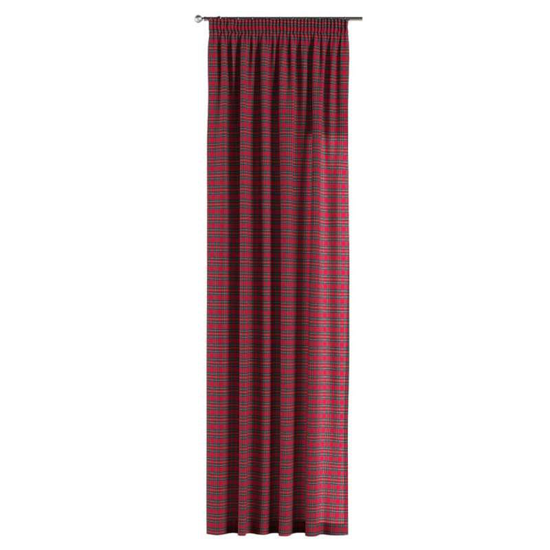 Pencil pleat curtain in collection Bristol, fabric: 126-29