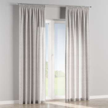 Pencil pleat curtains 130 x 260 cm (51 x 102 inch) in collection Venice, fabric: 140-49