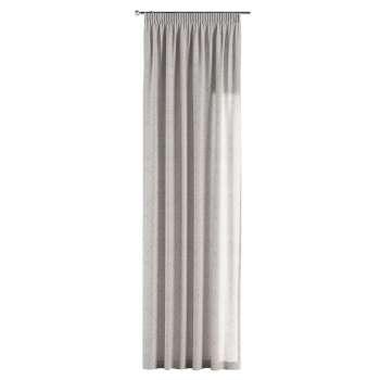 Gardin med rynkband 1 längd i kollektionen Venice, Tyg: 140-49