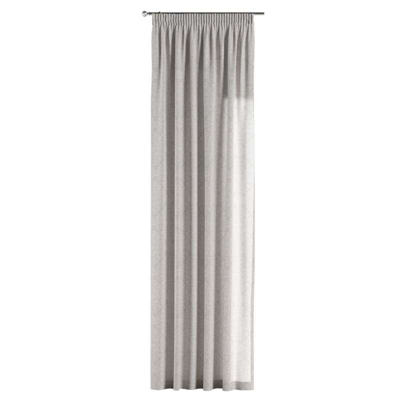 Pencil pleat curtain in collection Venice, fabric: 140-49