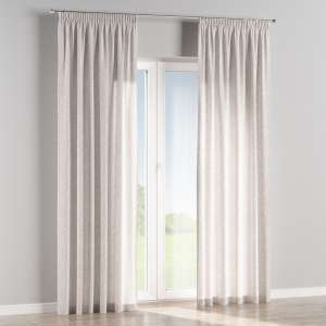 Pencil pleat curtains 130 x 260 cm (51 x 102 inch) in collection Venice, fabric: 140-50