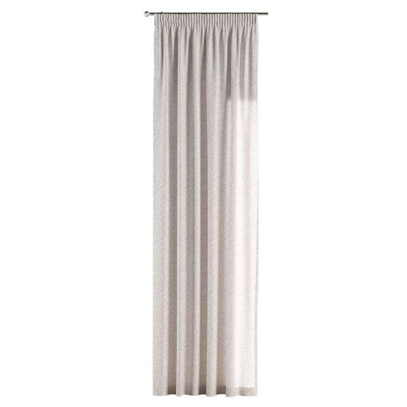Vorhang mit Kräuselband von der Kollektion Venice, Stoff: 140-50