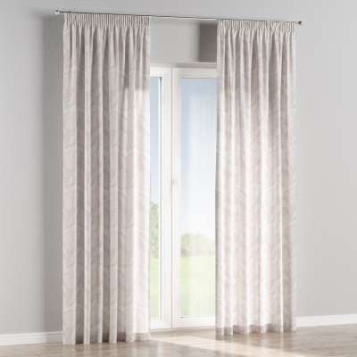 Vorhang mit Kräuselband 140-51 grau Kollektion Venice