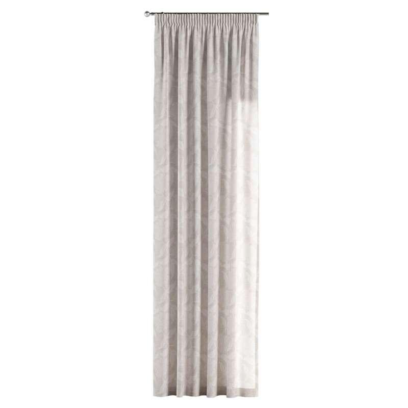 Gardin med rynkband 1 längd i kollektionen Venice, Tyg: 140-51