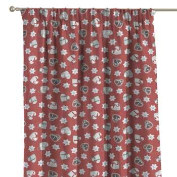 Pencil pleat curtains in collection Christmas, fabric: 629-29