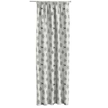 Pencil pleat curtains 130 x 260 cm (51 x 102 inch) in collection Christmas, fabric: 630-24