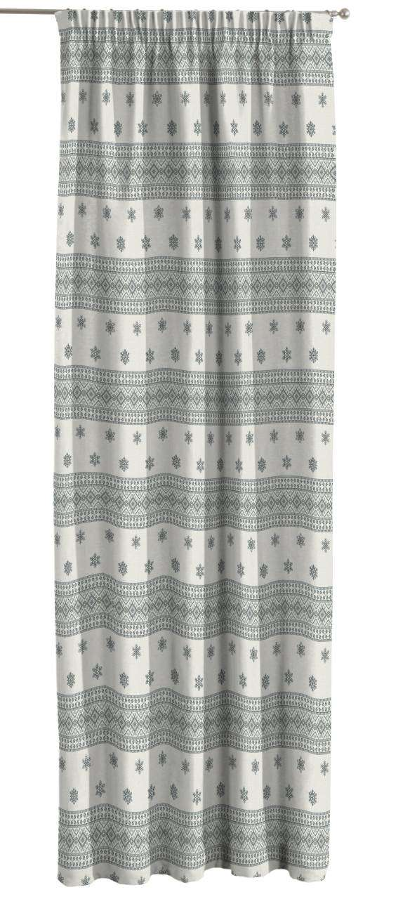 Pencil pleat curtains 130 x 260 cm (51 x 102 inch) in collection Christmas , fabric: 630-25