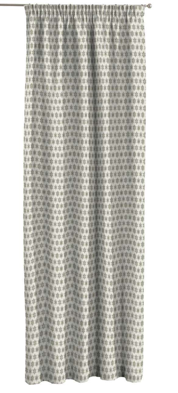 Pencil pleat curtains 130 x 260 cm (51 x 102 inch) in collection Christmas , fabric: 630-26