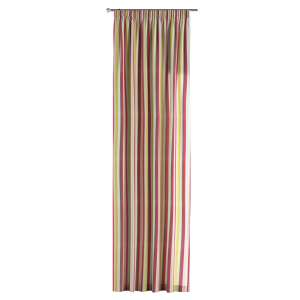 Pencil pleat curtains 130 x 260 cm (51 x 102 inch) in collection Norge, fabric: 140-81