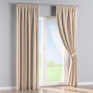 Vorhang mit Kräuselband 130 x 260 cm von der Kollektion Avinon, Stoff: 129-15