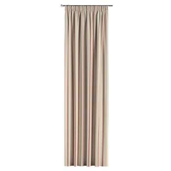 Vorhang mit Kräuselband von der Kollektion Avinon, Stoff: 129-15