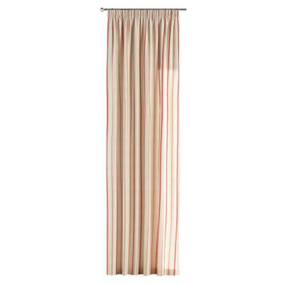 Pencil pleat curtains in collection Avinon, fabric: 129-15