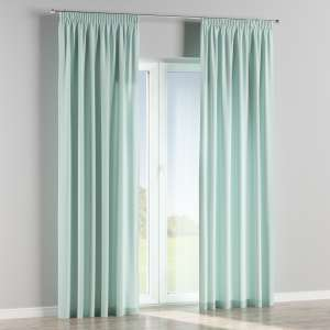 Pencil pleat curtains 130 x 260 cm (51 x 102 inch) in collection Cotton Panama, fabric: 702-10