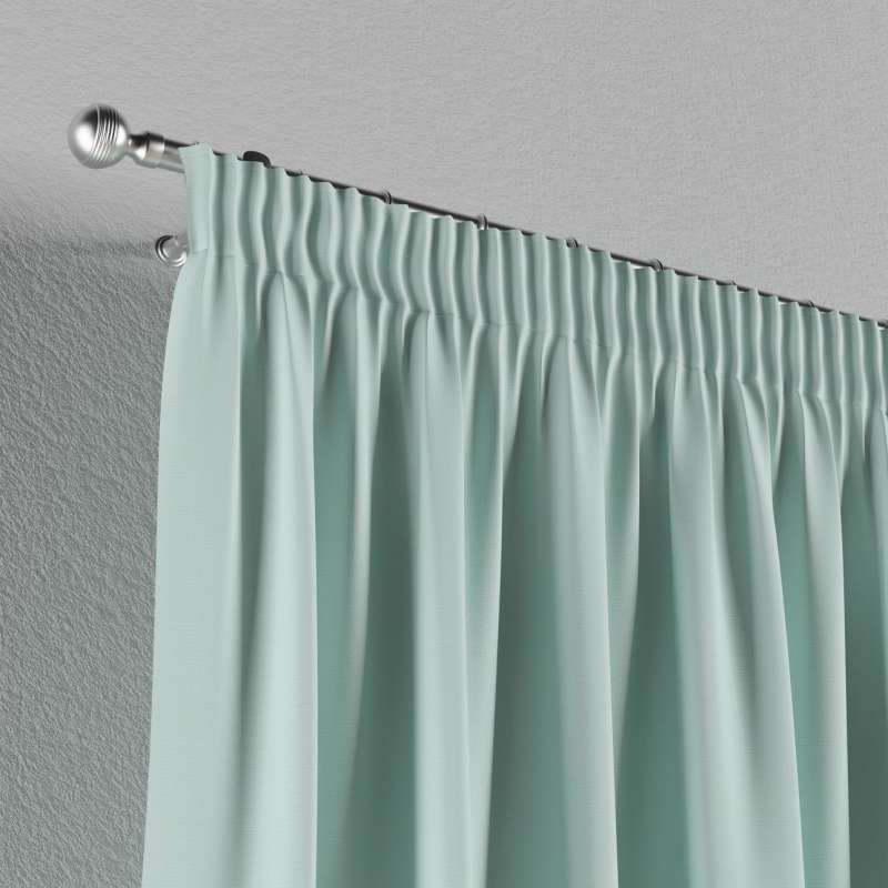 Pencil pleat curtain in collection Panama Cotton, fabric: 702-10
