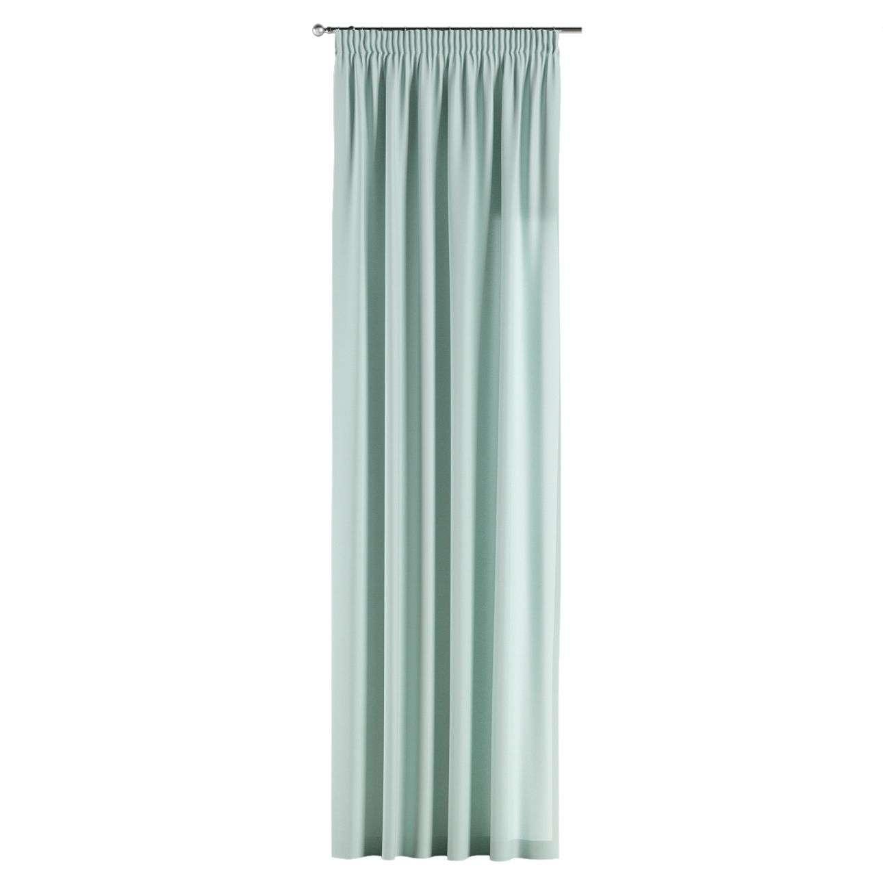 Gardin med rynkebånd 130 x 260 cm fra kollektionen Cotton Panama, Stof: 702-10