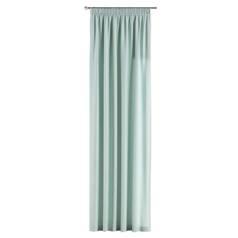 Gardin med rynkband 1 längd i kollektionen Panama Cotton, Tyg: 702-10