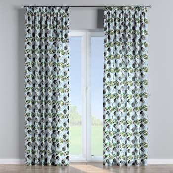 Pencil pleat curtains in collection Freestyle, fabric: 141-01