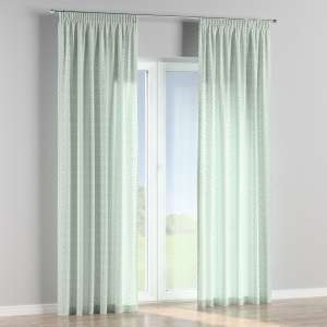 Pencil pleat curtains 130 x 260 cm (51 x 102 inch) in collection Geometric, fabric: 141-45