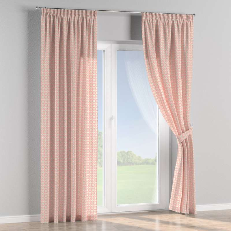 Pencil pleat curtain in collection SALE, fabric: 141-48