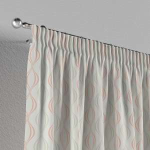 Pencil pleat curtains 130 x 260 cm (51 x 102 inch) in collection Geometric, fabric: 141-49