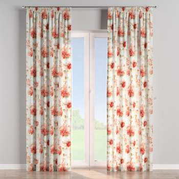 Pencil pleat curtains in collection Acapulco, fabric: 141-34