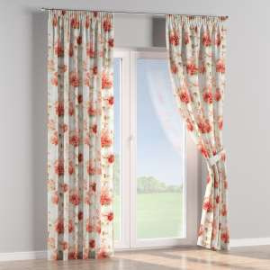 Pencil pleat curtains 130 x 260 cm (51 x 102 inch) in collection Acapulco, fabric: 141-34