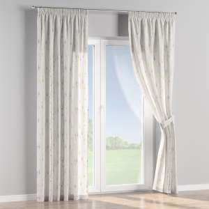 Pencil pleat curtains 130 x 260 cm (51 x 102 inch) in collection Acapulco, fabric: 141-36