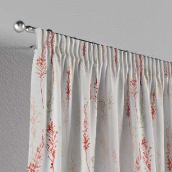 Pencil pleat curtains 130 x 260 cm (51 x 102 inch) in collection Acapulco, fabric: 141-37
