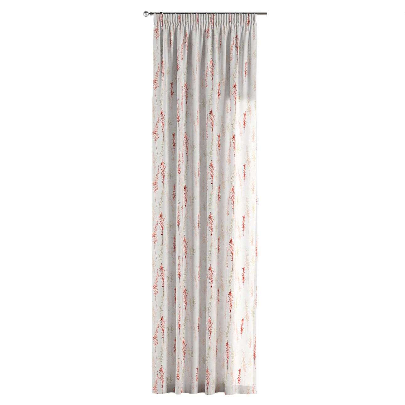Pencil pleat curtains in collection Acapulco, fabric: 141-37