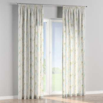 Pencil pleat curtains 130 x 260 cm (51 x 102 inch) in collection Acapulco, fabric: 141-38