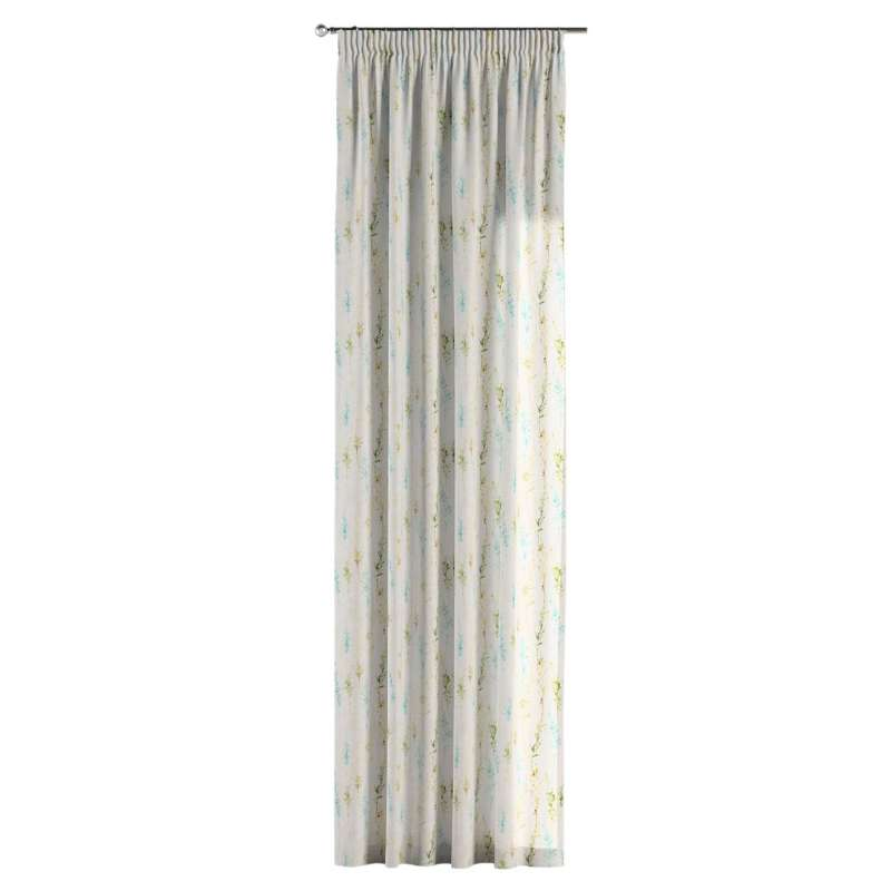 Pencil pleat curtains in collection Acapulco, fabric: 141-38