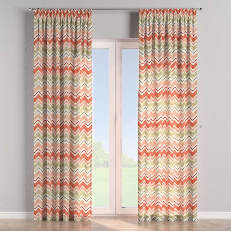 Pencil pleat curtain in collection SALE, fabric: 141-40