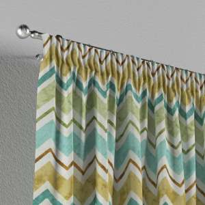 Pencil pleat curtains 130 x 260 cm (51 x 102 inch) in collection Acapulco, fabric: 141-41