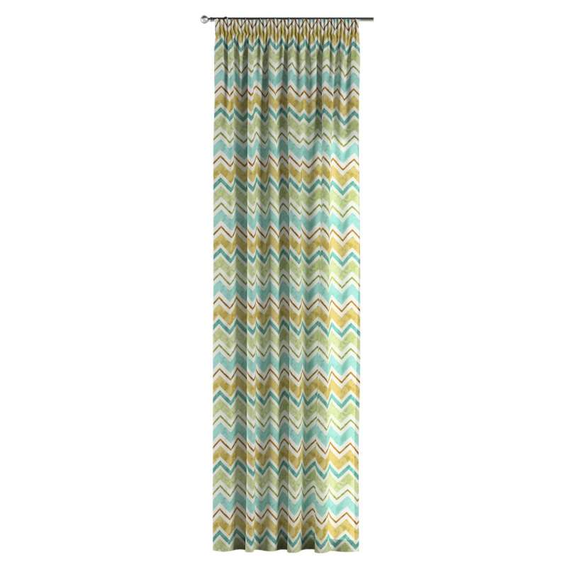 Pencil pleat curtains in collection Acapulco, fabric: 141-41