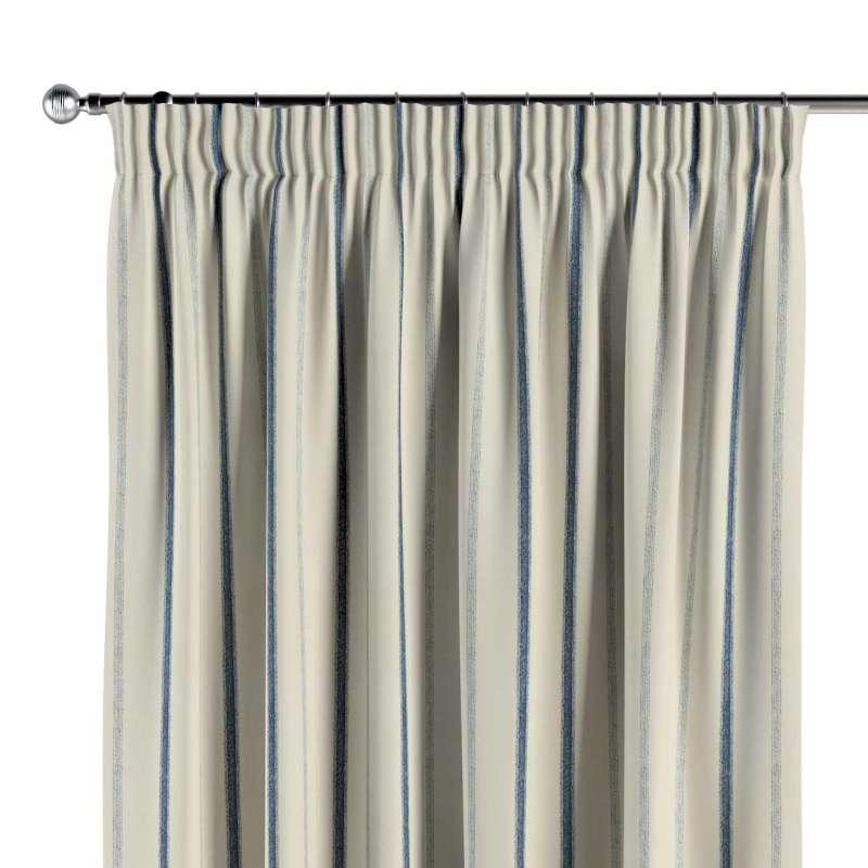 Vorhang mit Kräuselband von der Kollektion Avinon, Stoff: 129-66