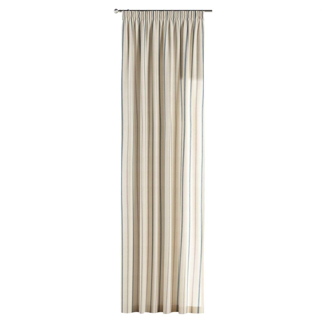 Pencil pleat curtains 130 × 260 cm (51 × 102 inch) in collection Avinon, fabric: 129-66