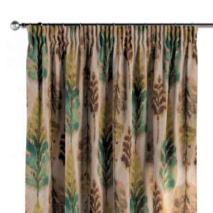 Pencil pleat curtains 130 x 260 cm (51 x 102 inch) in collection Urban Jungle, fabric: 141-60