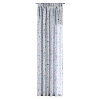 Pencil pleat curtains 130 x 260 cm (51 x 102 inch) in collection Little World, fabric: 141-27