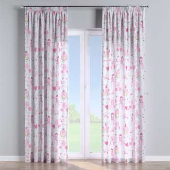 Pencil pleat curtains in collection Little World, fabric: 141-28