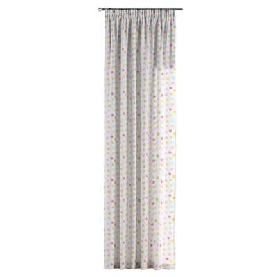 Pencil pleat curtains in collection Little World, fabric: 141-52