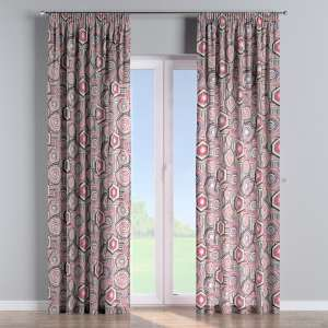 Pencil pleat curtains 130 x 260 cm (51 x 102 inch) in collection New Art, fabric: 141-54