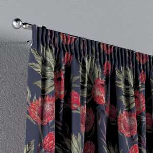 Pencil pleat curtains 130 x 260 cm (51 x 102 inch) in collection New Art, fabric: 141-57