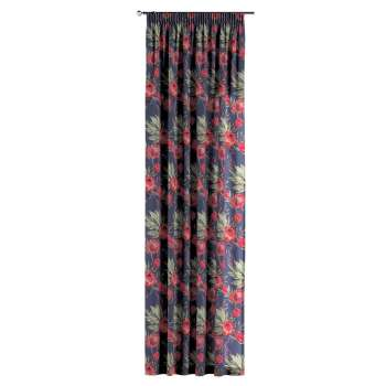 Pencil pleat curtains in collection New Art, fabric: 141-57