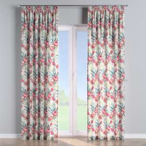 Pencil pleat curtains 130 x 260 cm (51 x 102 inch) in collection New Art, fabric: 141-59