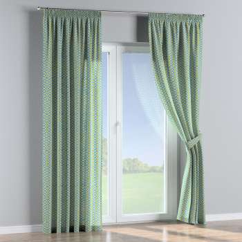 Pencil pleat curtains in collection Comics/Geometrical, fabric: 141-20