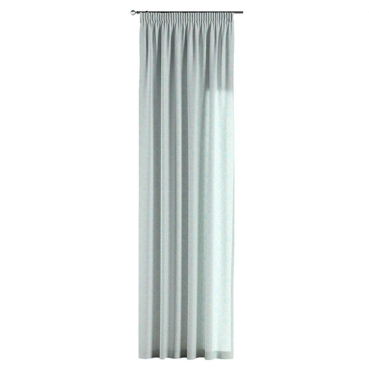 Gardin med rynkband 1 längd 130 × 260 cm i kollektionen Comics , Tyg: 141-24