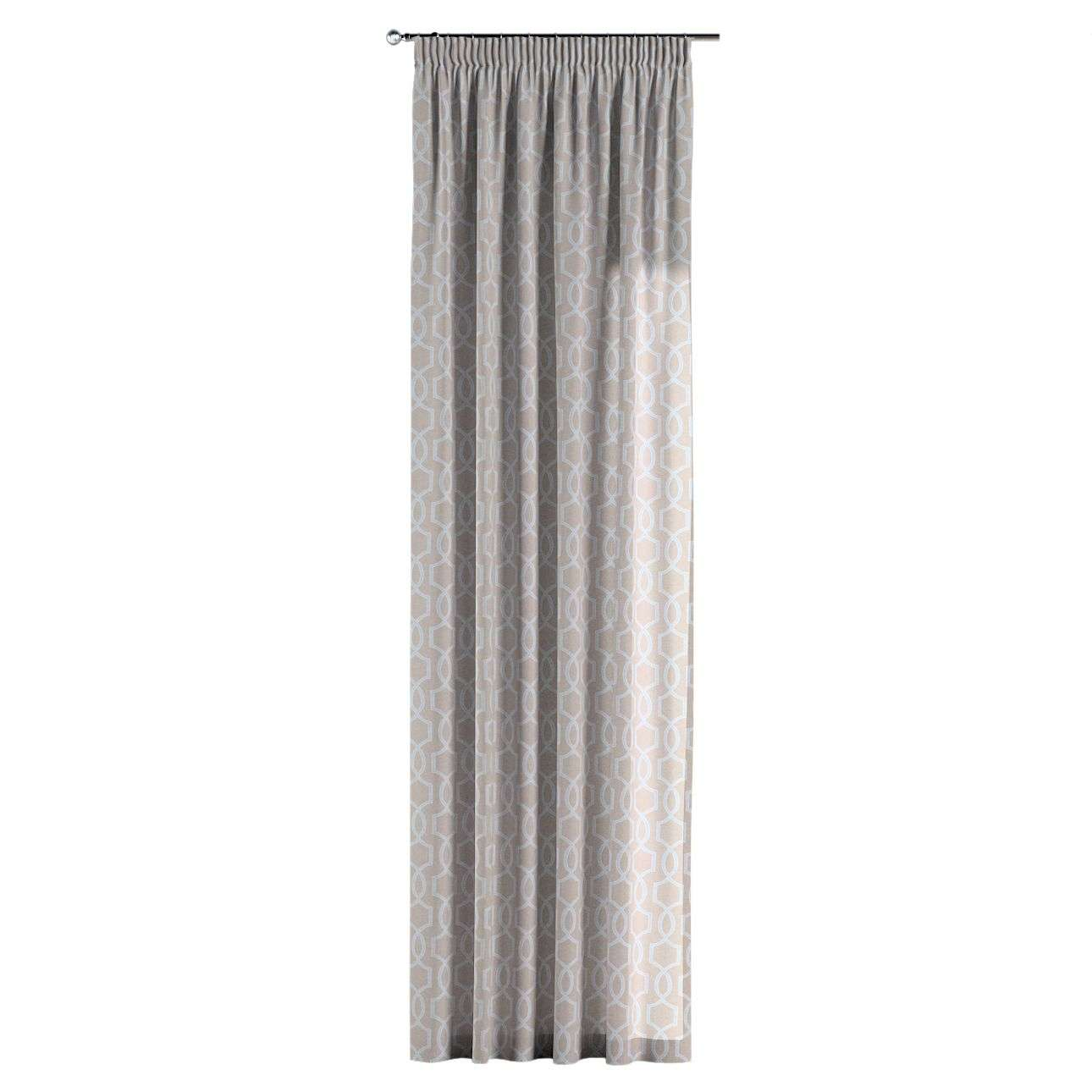 Pencil pleat curtains 130 × 260 cm (51 × 102 inch) in collection Comics/Geometrical, fabric: 141-26