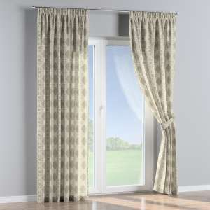 Pencil pleat curtains 130 x 260 cm (51 x 102 inch) in collection Comic Book & Geo Prints, fabric: 141-56